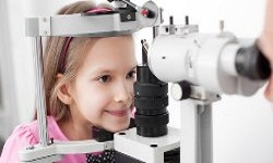 Pediatric Ophthalmology and Dermatology Photo
