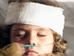 Pediatric Brain Injury  Photo