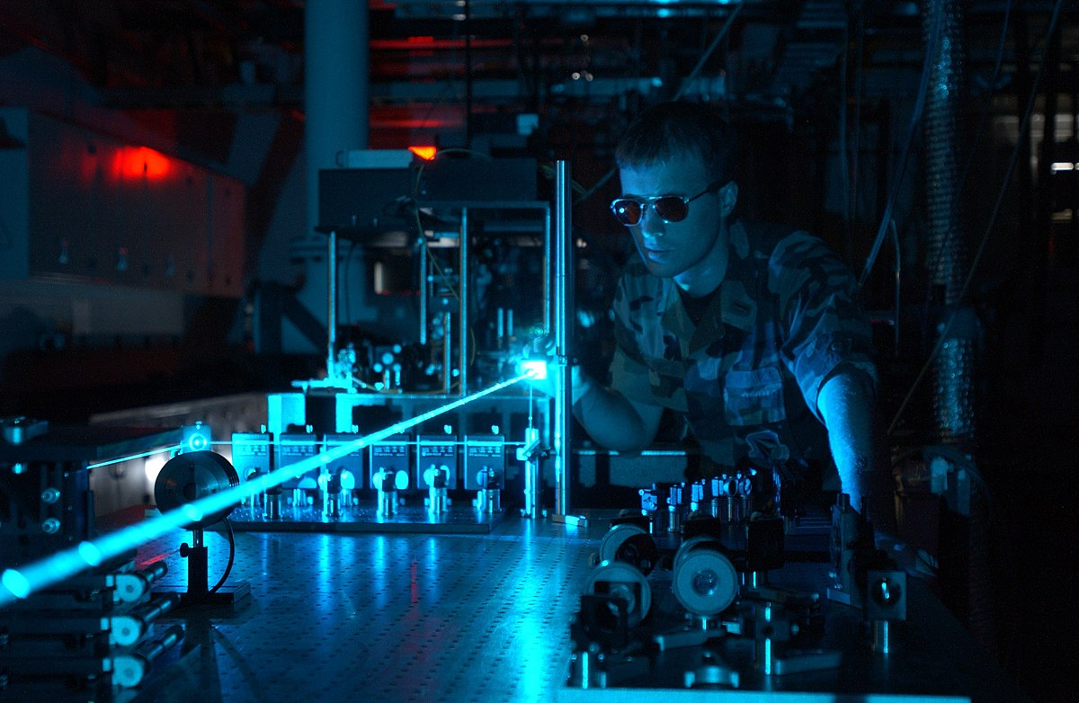 Laser Optics Photo