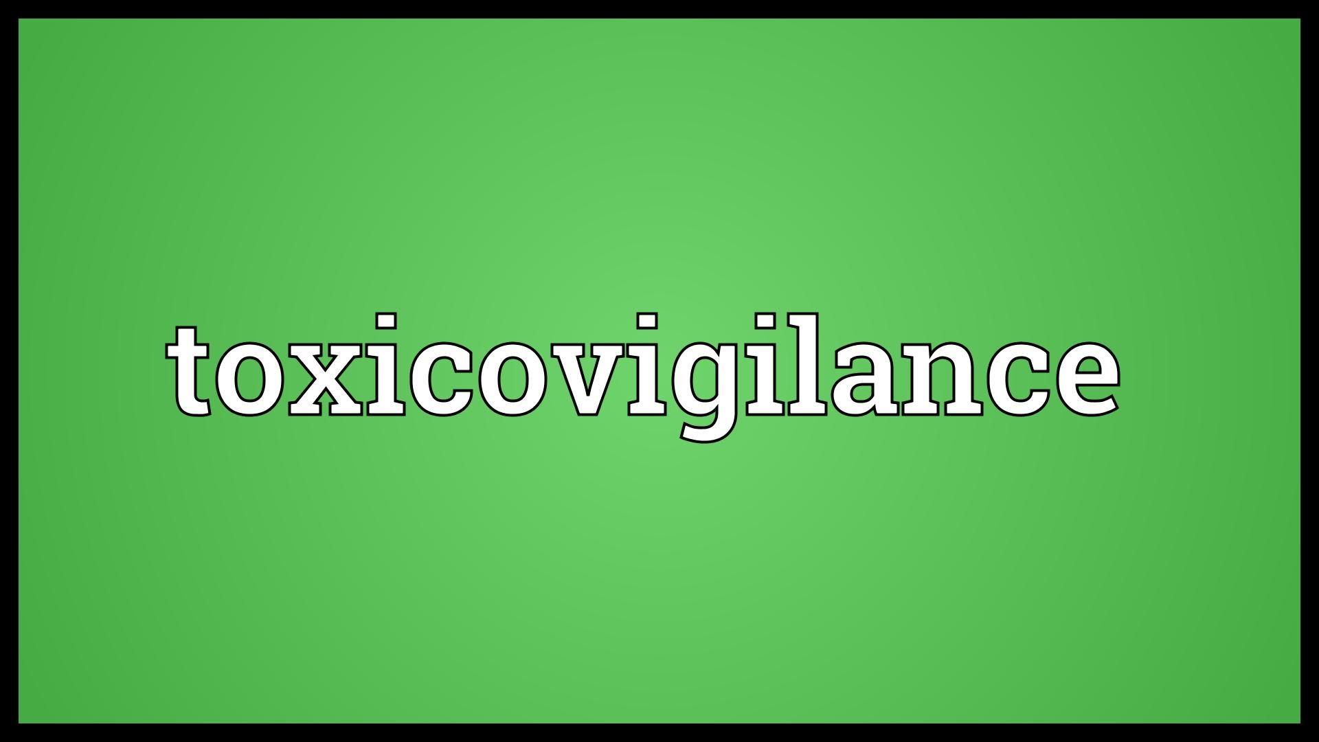 Toxicovigilance Photo