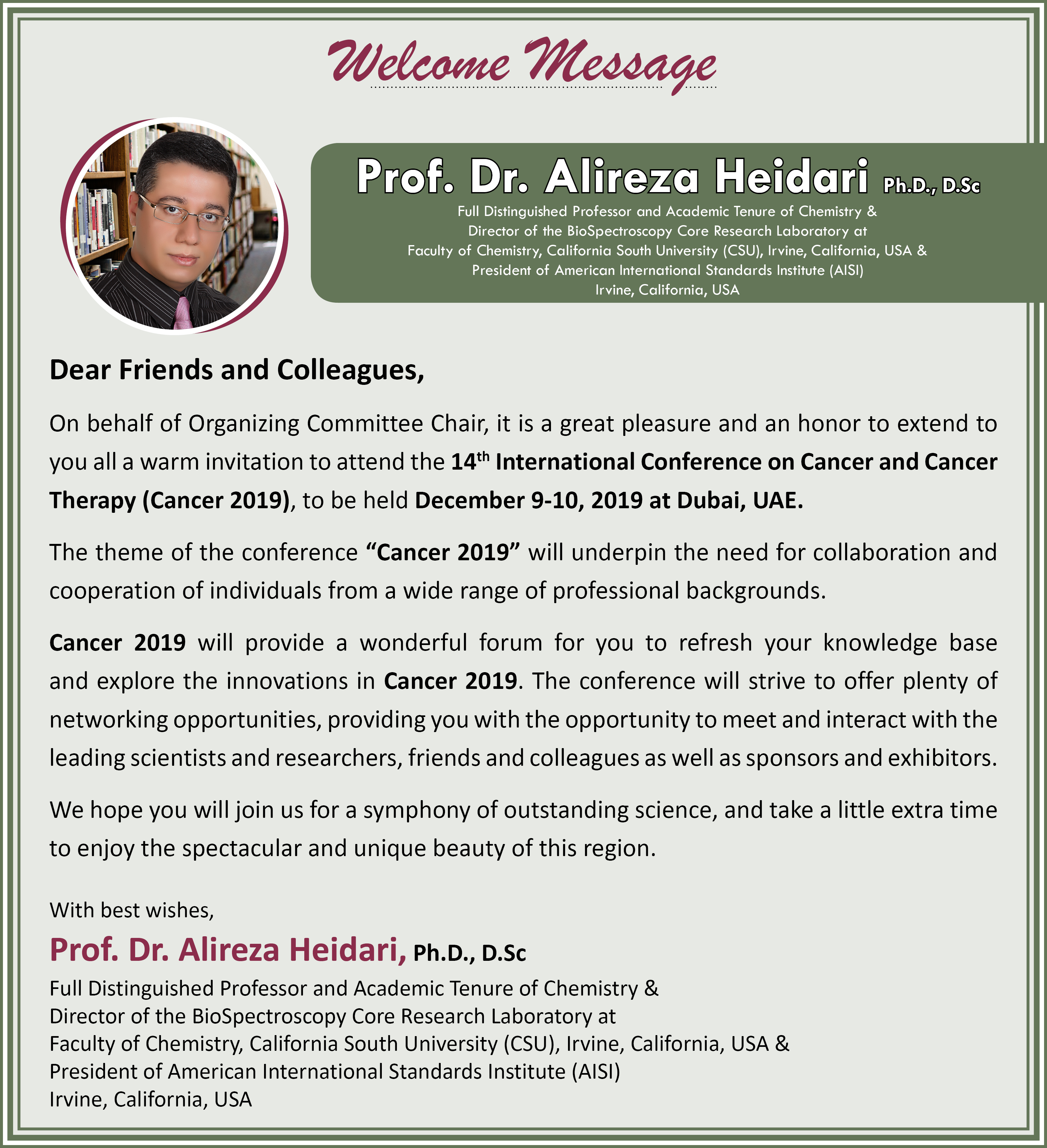Cancer Conferences | Oncology Conferences | Haematology Congress