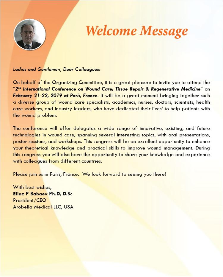Wound Care Conference | Wound Care Congress | Regenerative Medicine ...
