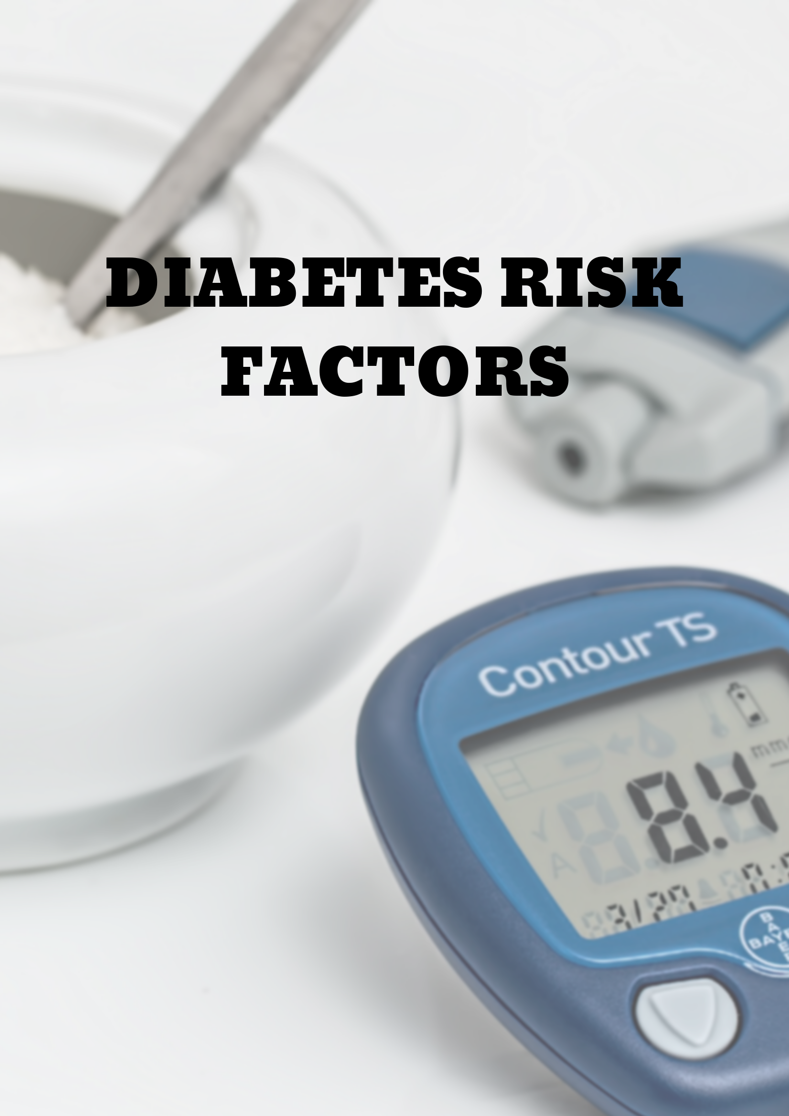 Diabetes Risk Factors Photo