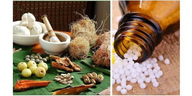 Ayurveda and Homeopathy Photo