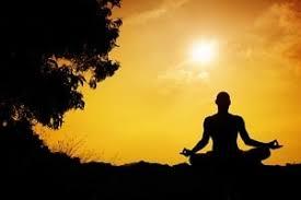 Yoga and meditation Photo