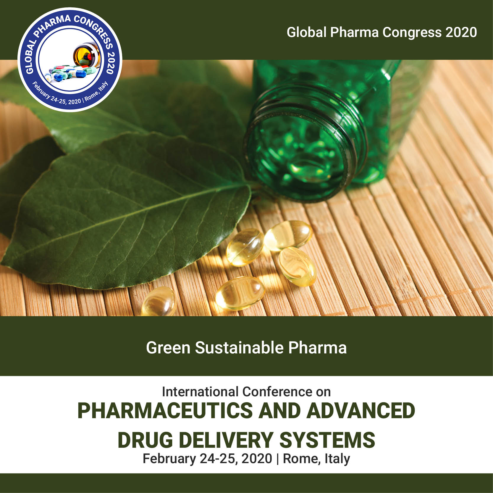 Green Sustainable Pharma Photo