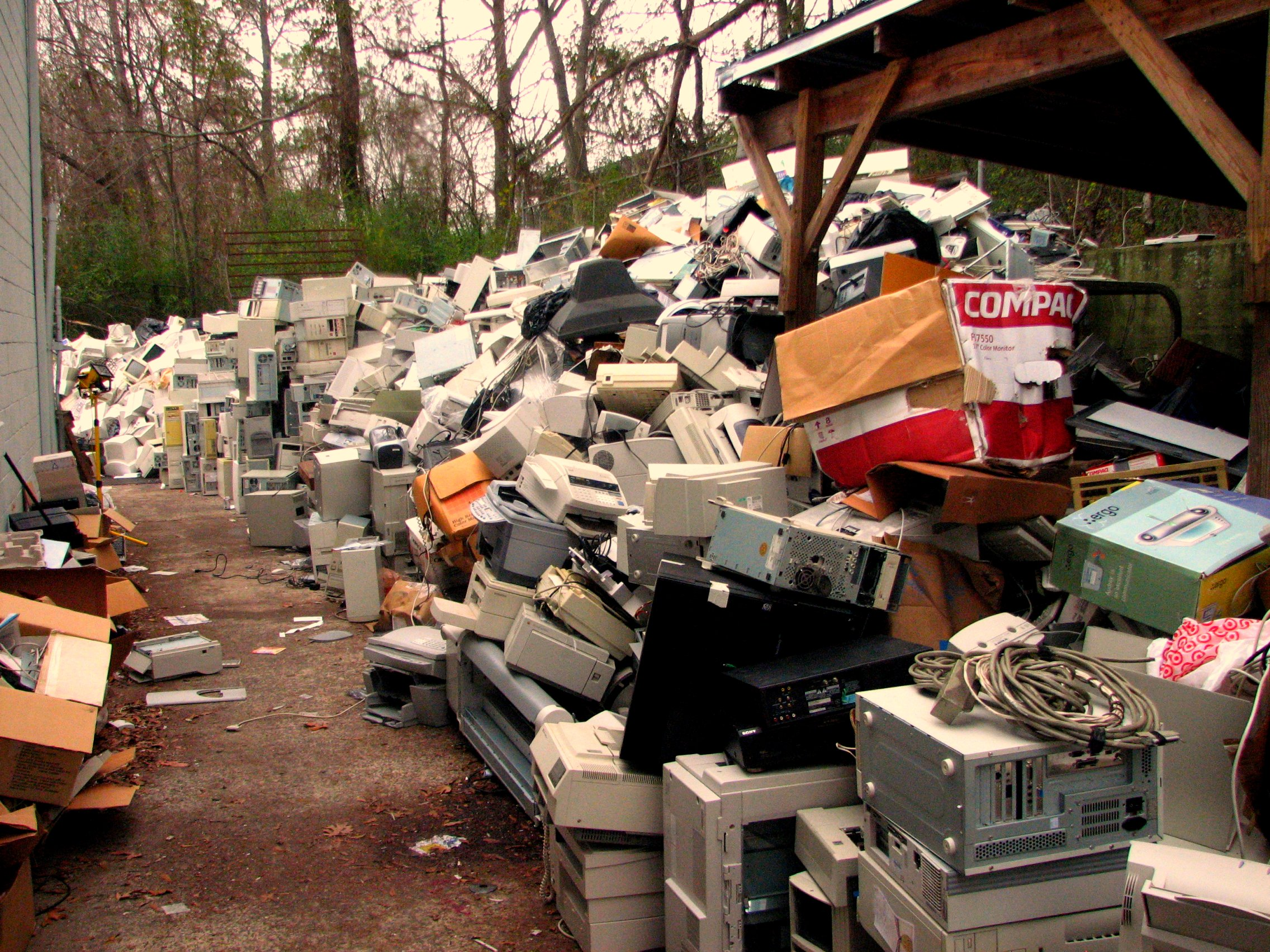 Electronic Waste Recycling Photo
