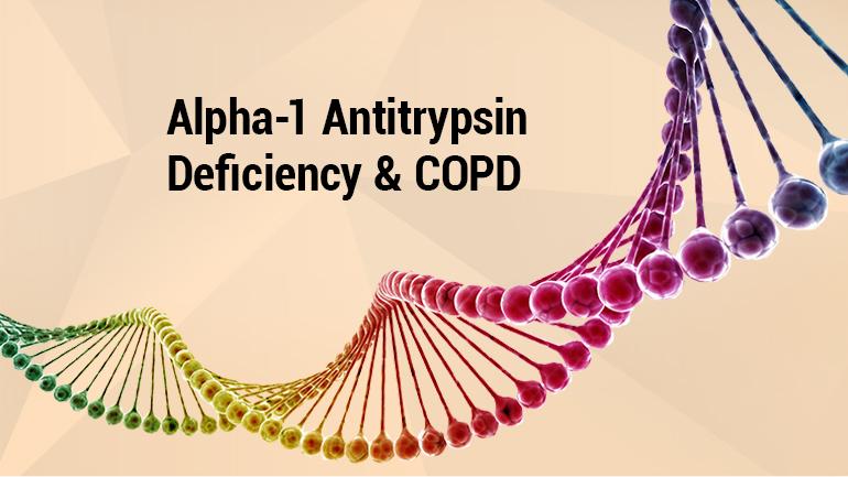 Alpha 1 Antitrypsin Deficiency & Pulmonary Disease Photo