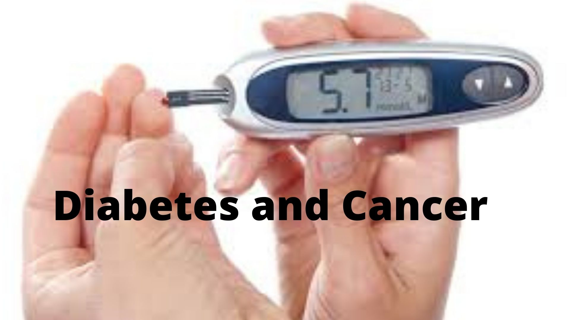 Diabetes and Cancer Photo