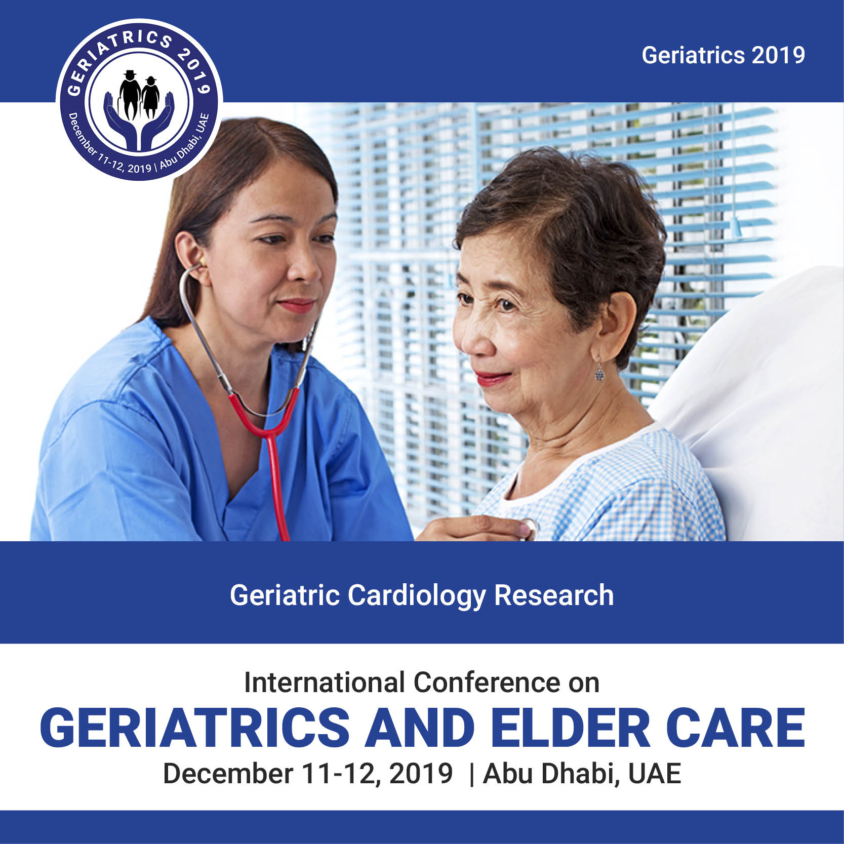 Geriatric Cardiology Research Photo