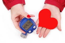 Diabetes and heart  Photo