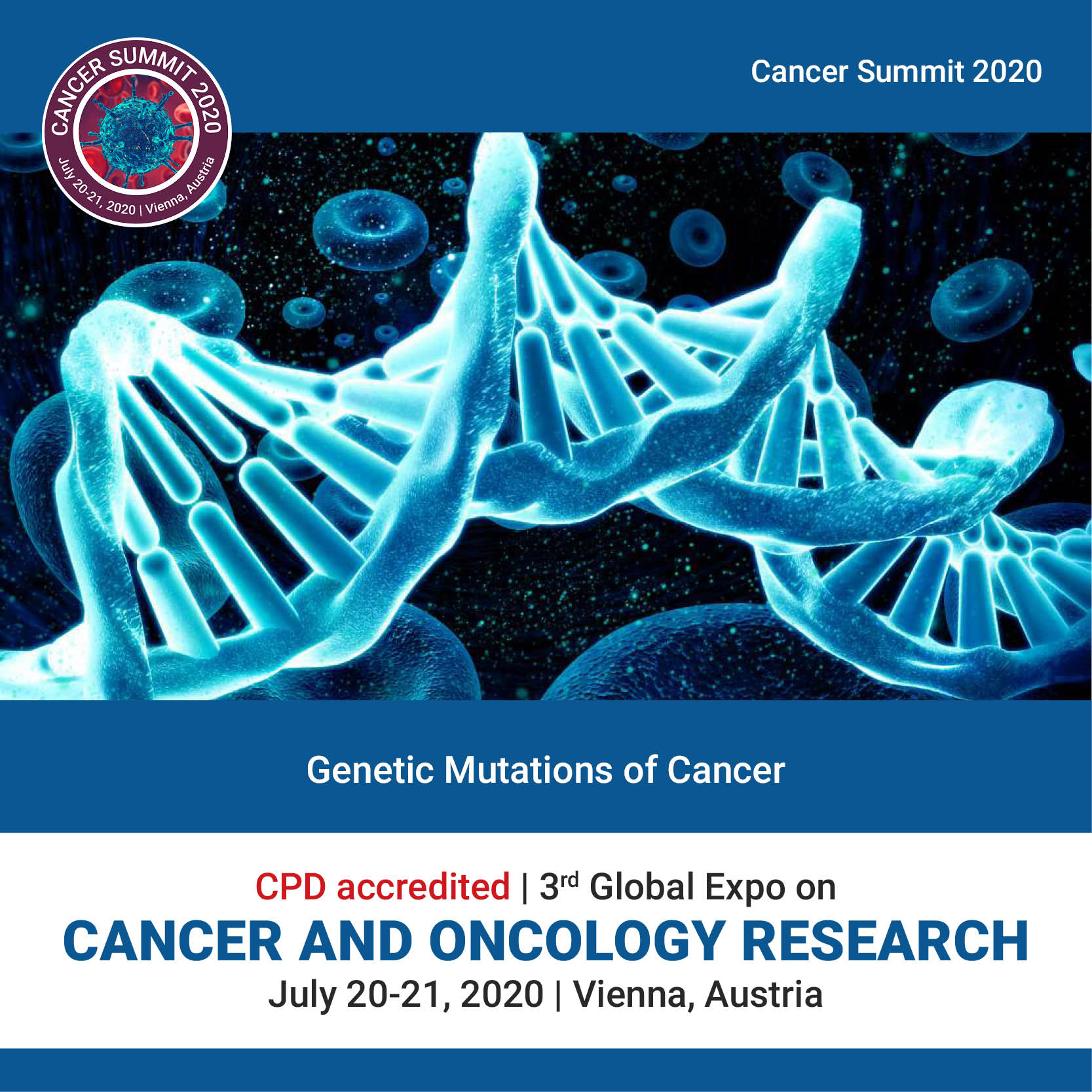 Genetic Mutations of Cancer	 Photo
