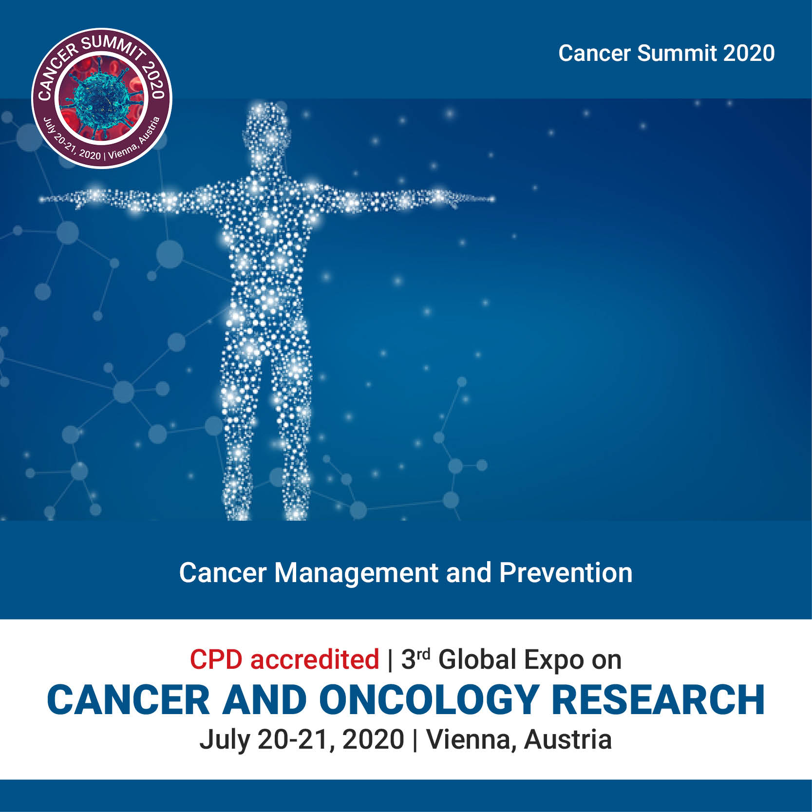 Cancer management and prevention		 Photo