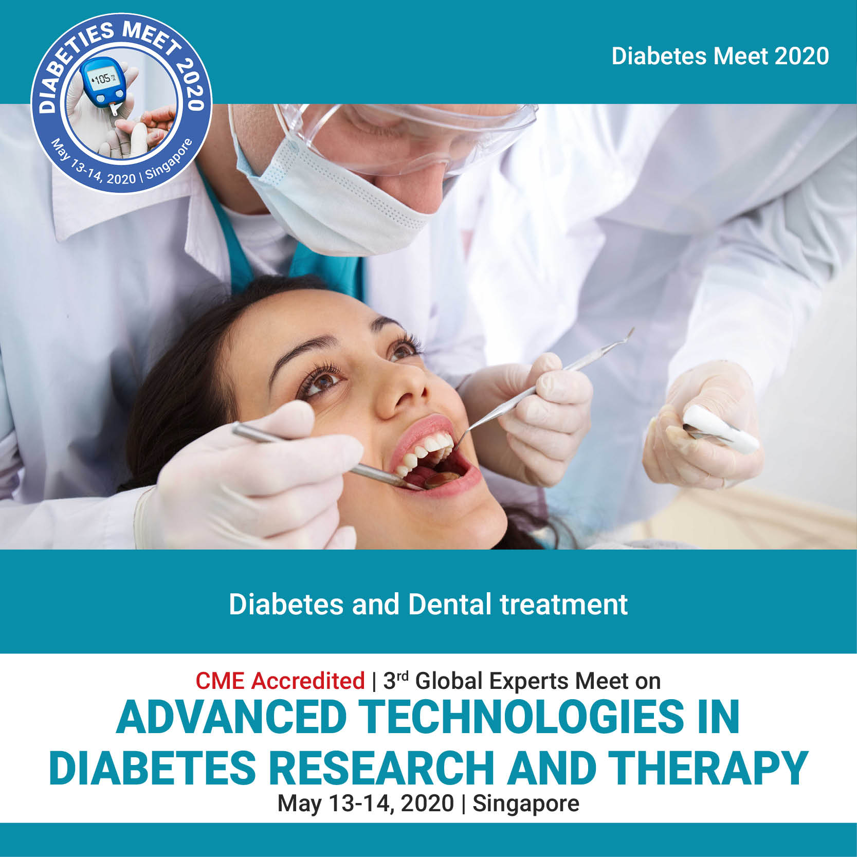 Diabetes and Dental treatment Photo
