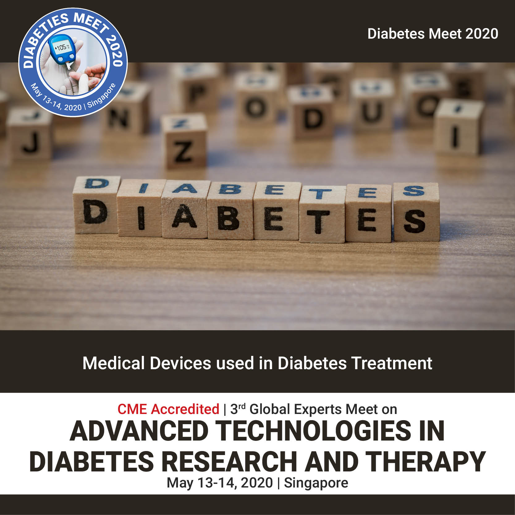 Medical Devices used in Diabetes Treatment Photo