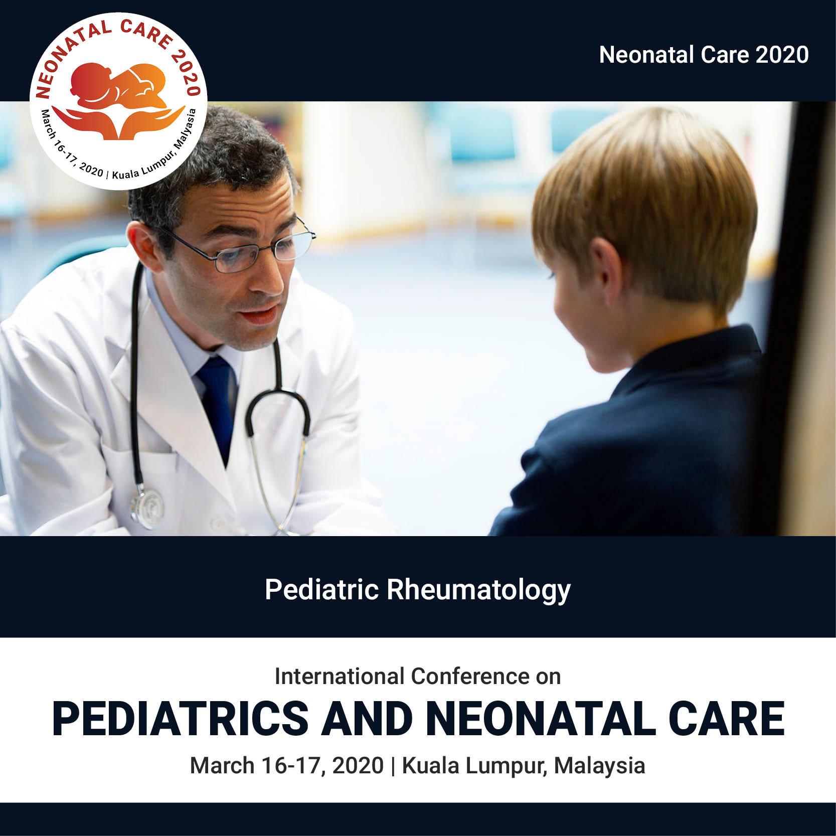 Pediatric Rheumatology | Global Events | USA| Europe