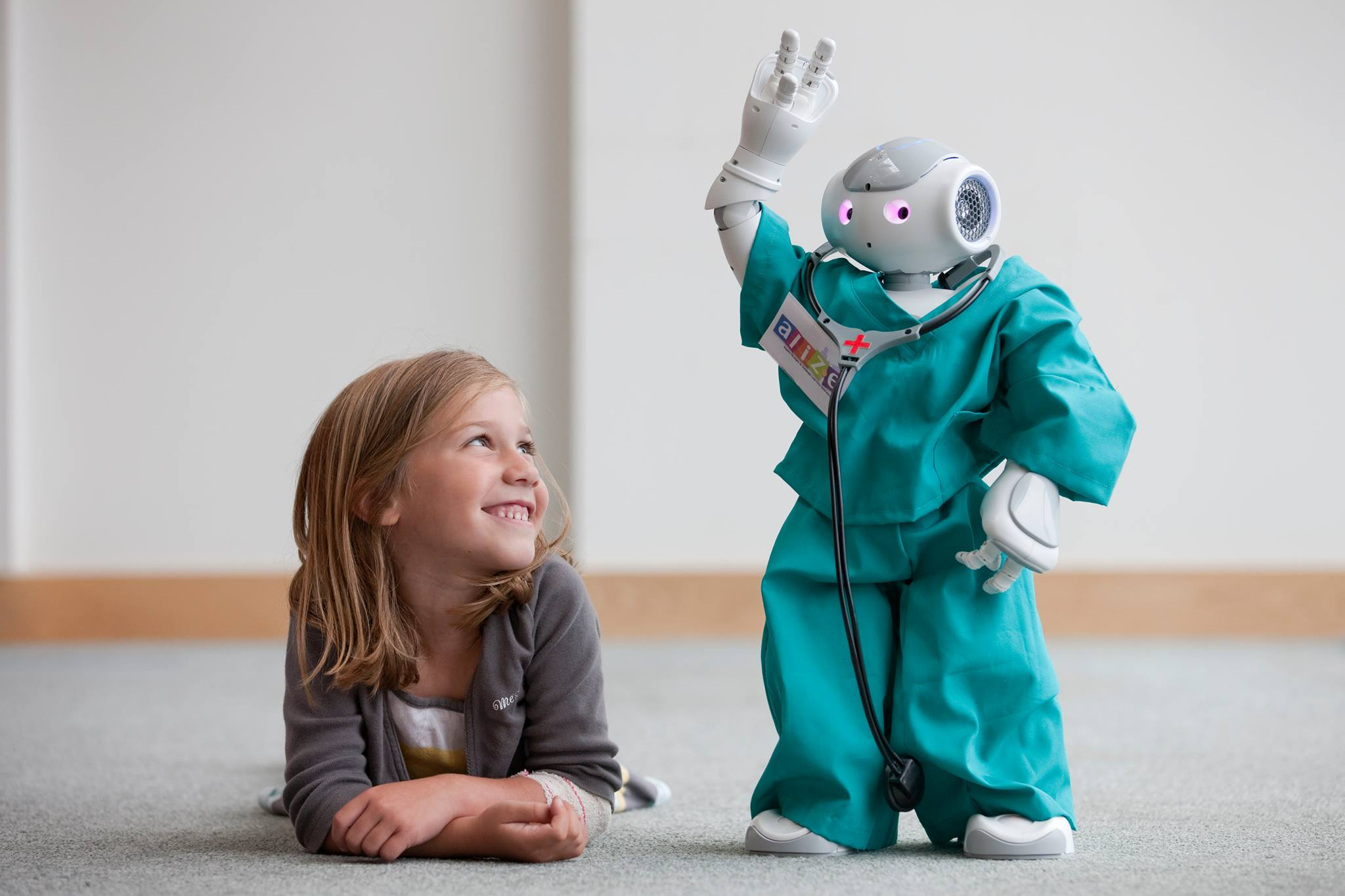 HUMANOID ROBOTS FOR PEDIATRIC CARE Photo