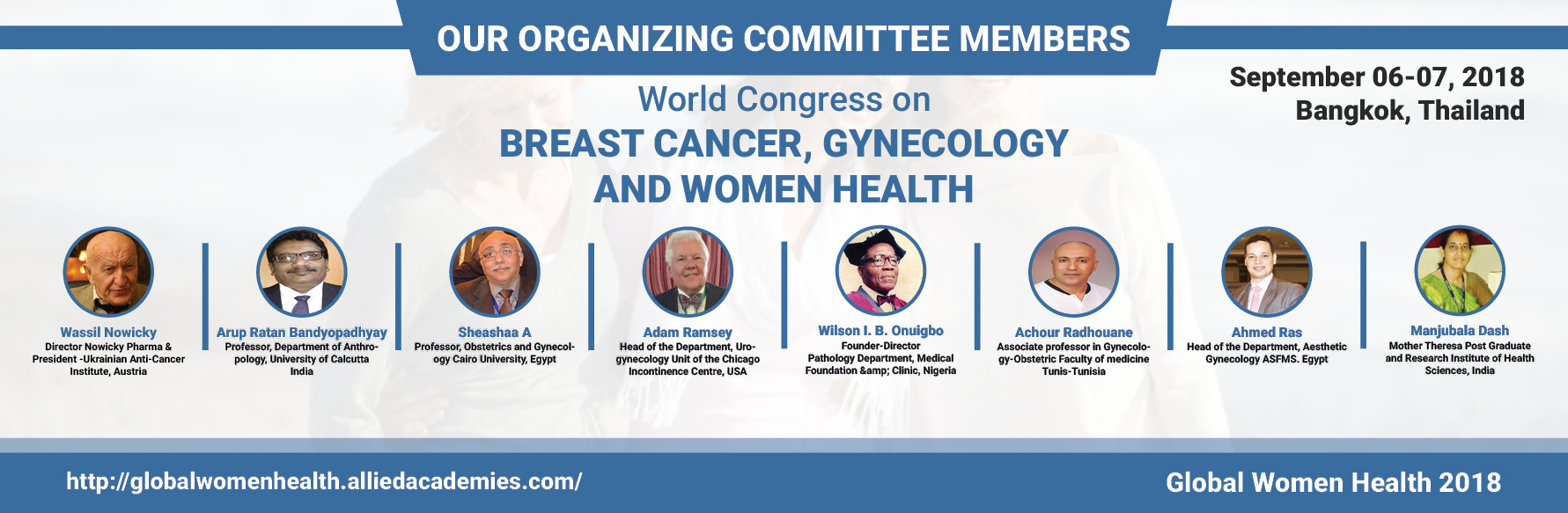 Organizing Committee | Top Gynecology Conferences | Women