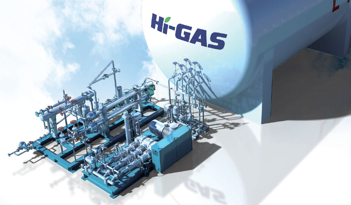 Gas supply and Gas Technology Photo