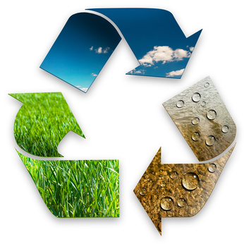 Agricultural Waste Recycling Photo