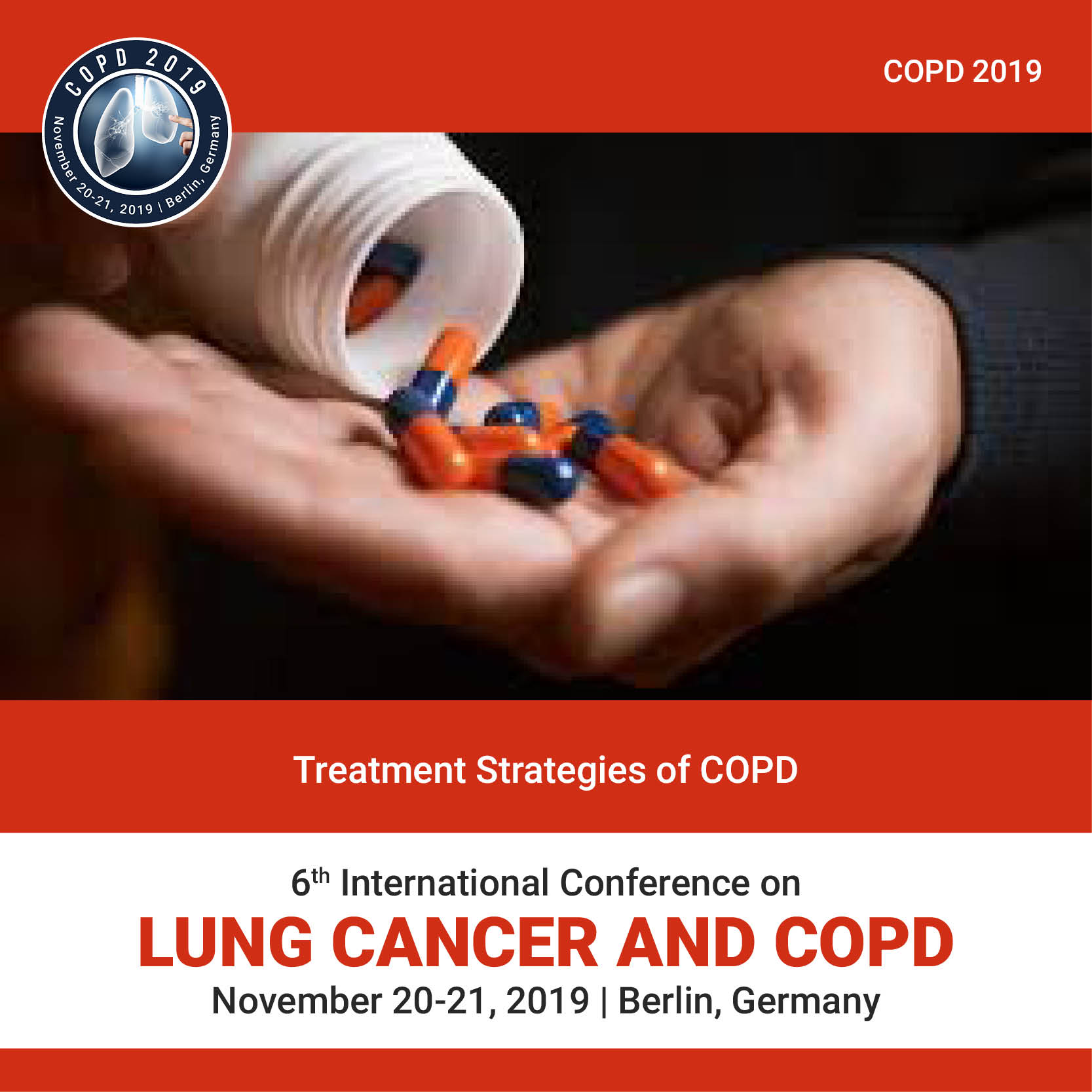 Treatment strategies of COPD Photo