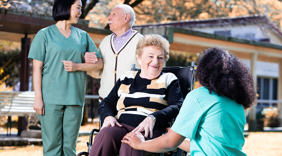 Gerontology and Geriatric palliative care Photo