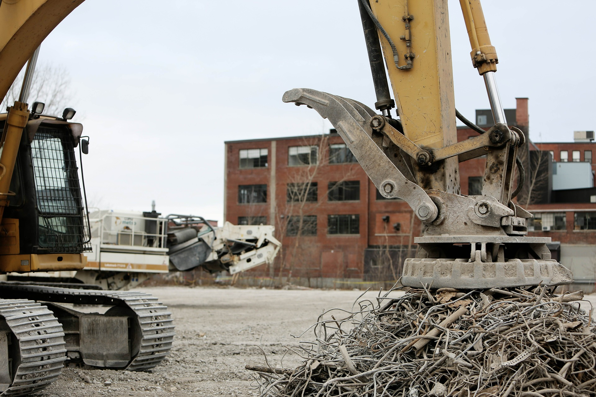 Construction Waste Recycling Photo