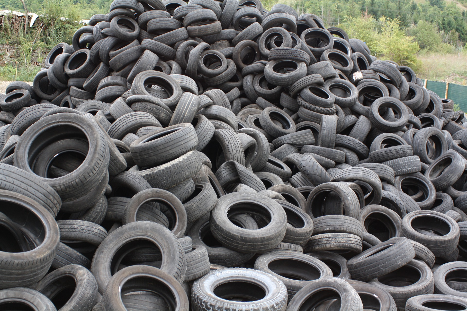Rubber/ Tire Recycling Photo