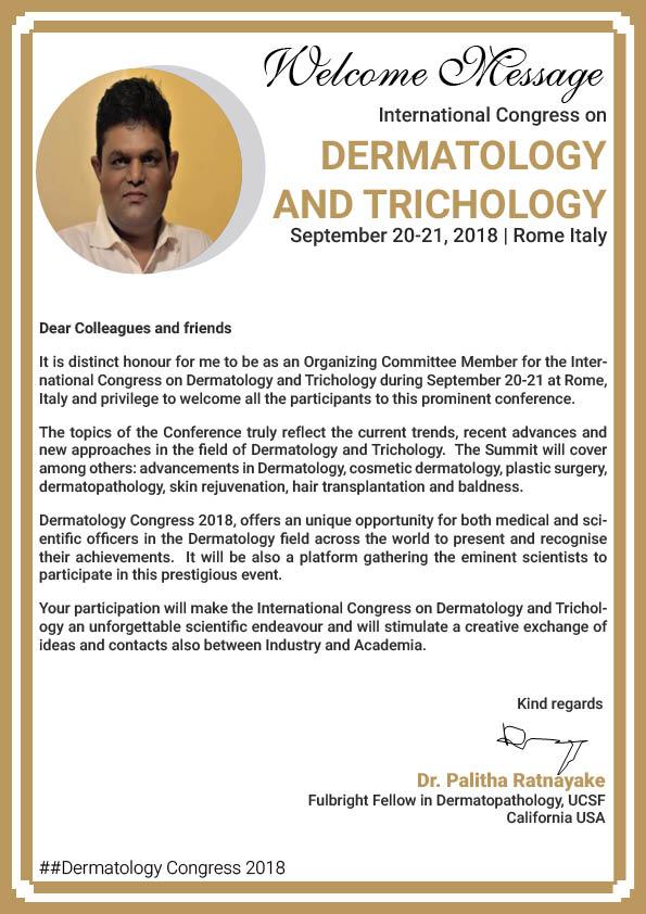 Dermatology Conferences | Top Dermatology Congress 2018