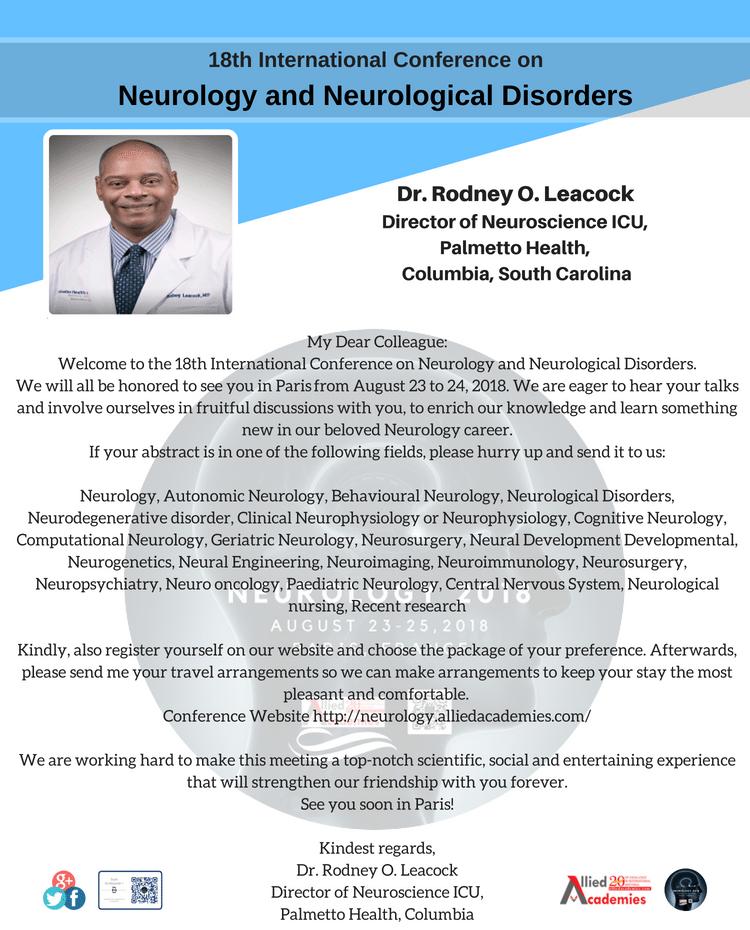 Neurology Conference | Neurology Conferences | Neurology Congress