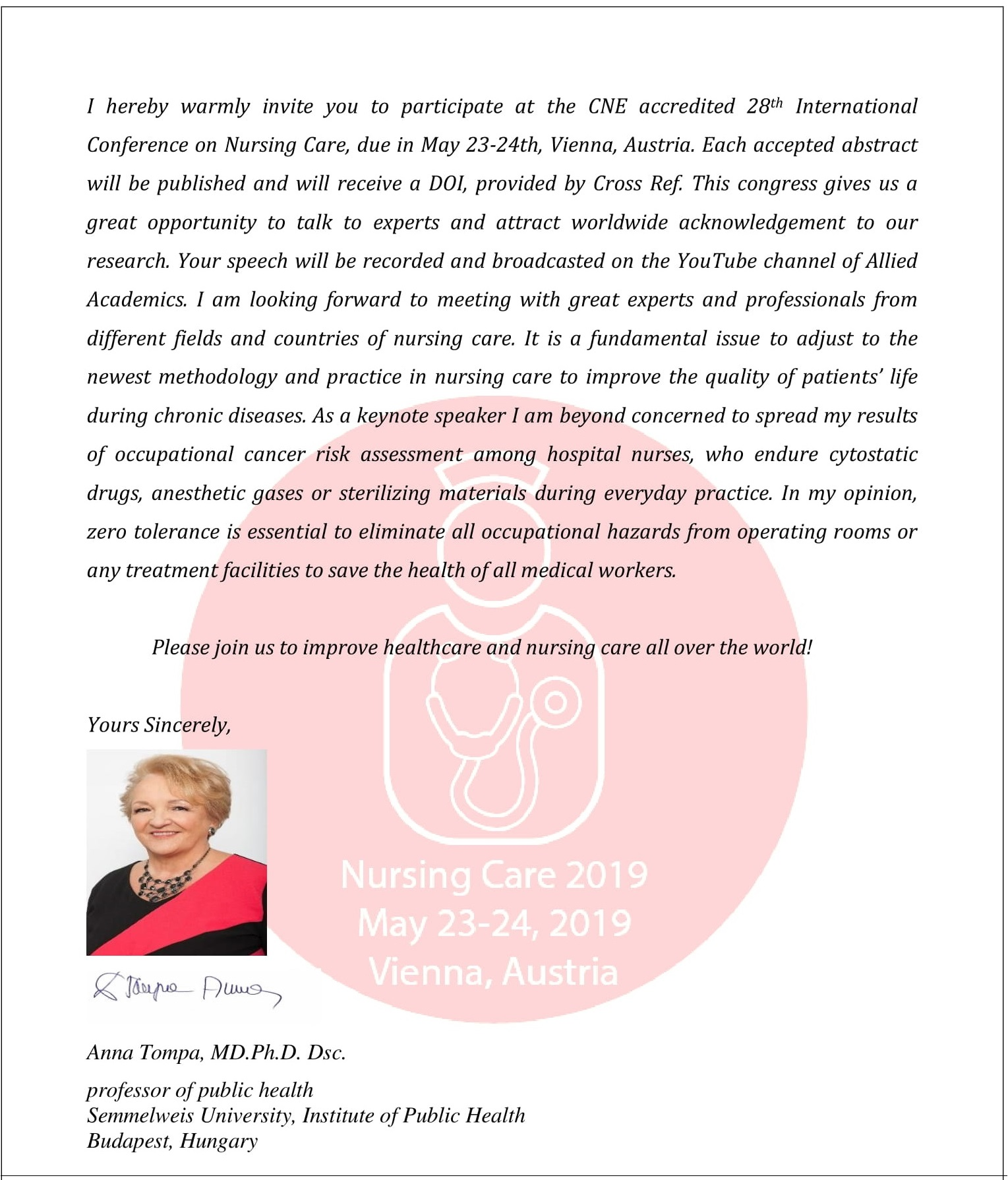 Leading Nursing Conferences | Top Nursing Conference
